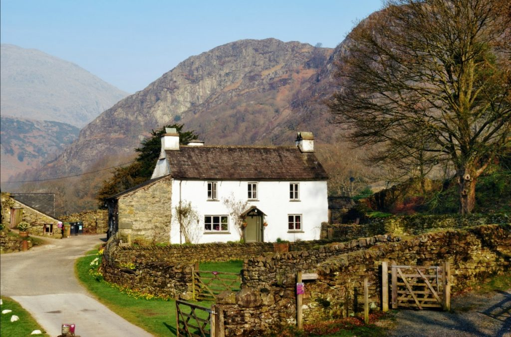Beatrix Potter's Hill Top House in Cumbria, England